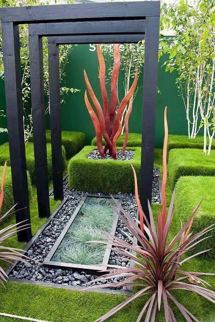 garden in fence ideas (60)