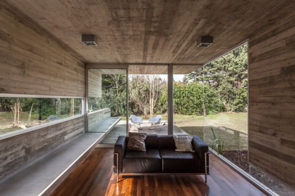 tiny Modern cement houses (2)