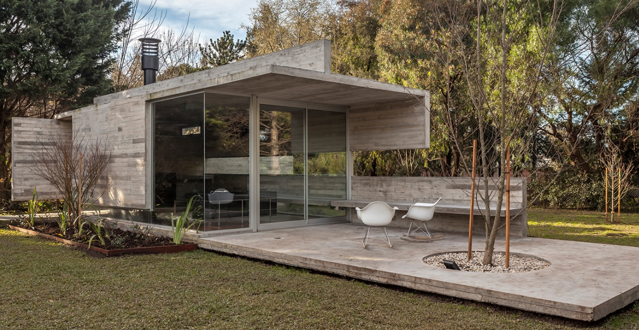 tiny Modern cement houses (9)