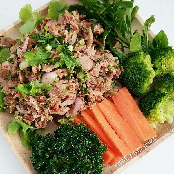 tuna spicy salad recipe