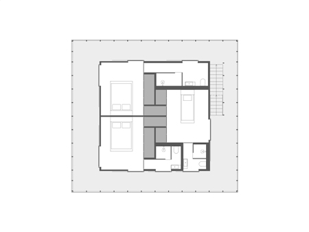 two-story villa house material from wood (11)
