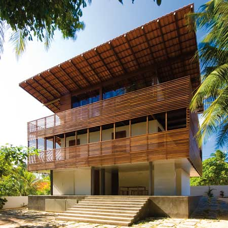 two-story villa house material from wood (13)