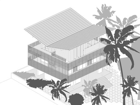 two-story villa house material from wood (9)