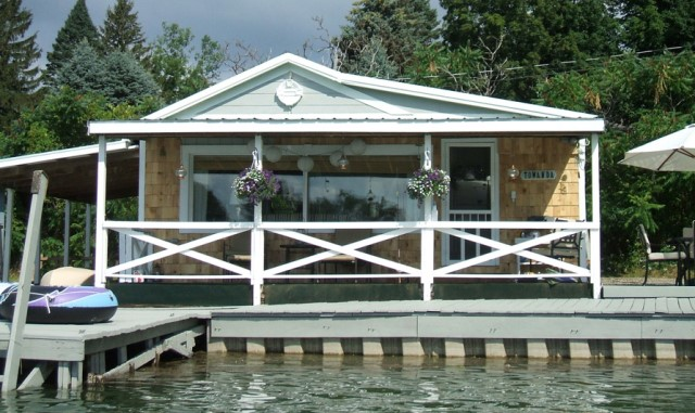 white cream lake house bungalow style (1)
