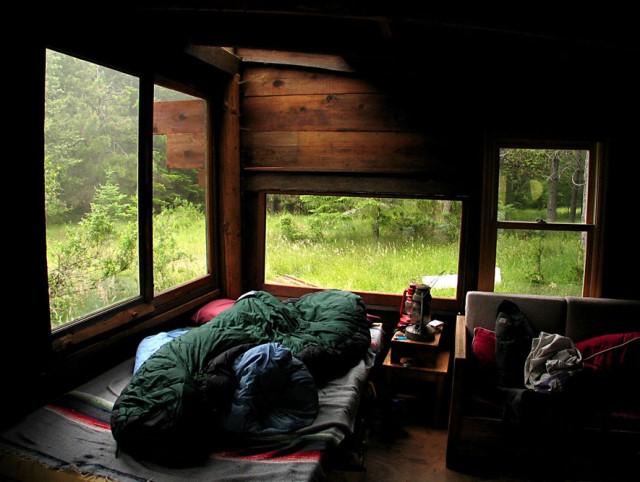 wodden cottage garden tiny house (3)