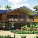 บ้านไม้บังกะโล 4 ห้องนอน 2 ห้องน้ำ ยกใต้ถุนสูง รับกับความต้องการของคนไทย