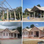 Review : สร้างบ้านชั้นเดียว 3 ห้องนอน 3 ห้องน้ำ พื้นที่ 138 ตร.ม. งบประมาณล้านต้นๆ