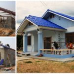 ปลูกบ้านหลังน้อย สำหรับครอบครัวเล็ก พื้นที่ใช้สอย 100 ตร. ม. ในงบประมาณ 500,000 บาท