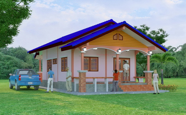 1 storey country gable house (1)