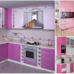 9 ไอเดียตกแต่งห้องครัว ในโทนสีชมพูสดใส พร้อมด้วยดีไซน์ที่กะทัดรัดเป็นสัดส่วน