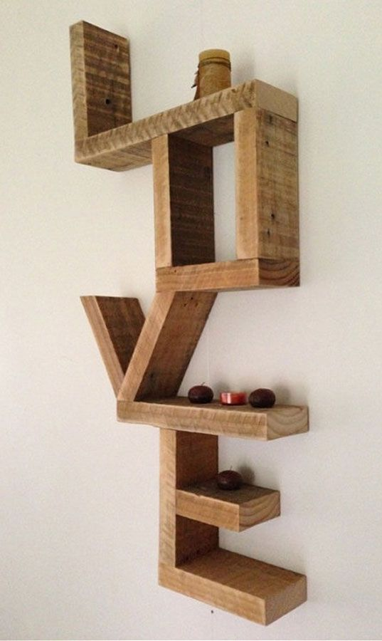 13 wooden minimal shelve ideas (7)