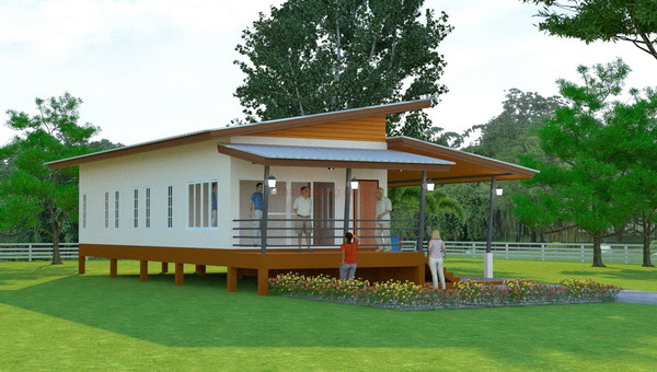1m 3 bedroom simple modern house (2)