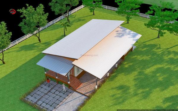 1m 3 bedroom simple modern house (3)