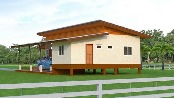 1m 3 bedroom simple modern house (4)