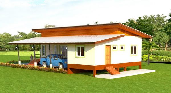 1m 3 bedroom simple modern house (5)