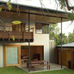 แบบบ้านสองชั้นแนวคันทรี่ เรียบง่ายแต่มีรายละเอียด แถมโปร่งโล่งเข้ากับธรรมชาติ