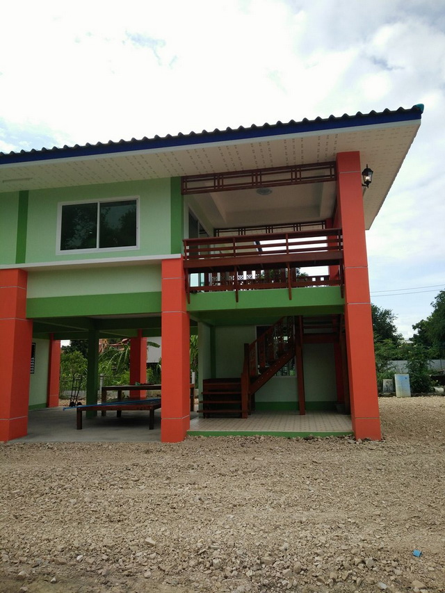 2 stories thai colorful 2 house (9)