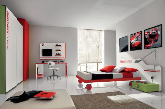 30 ideas modern bedroom and two-tone (1)
