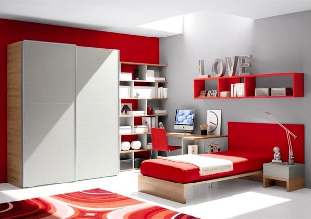 30 ideas modern bedroom and two-tone (10)