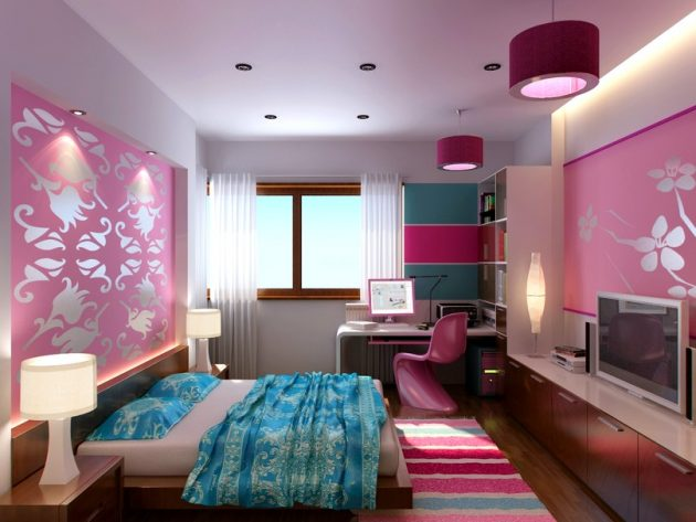 30 ideas modern bedroom and two-tone (11)