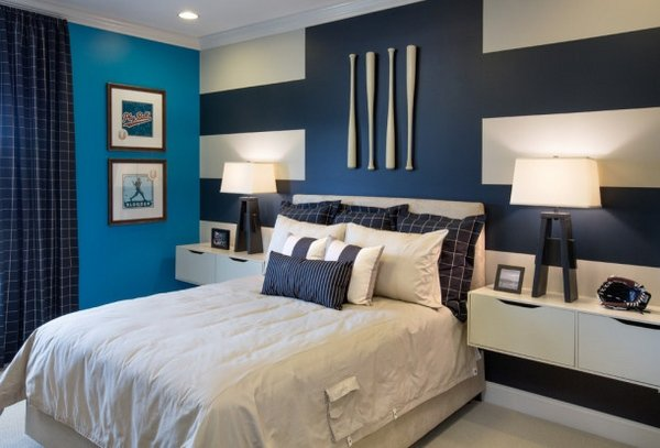 30 ideas modern bedroom and two-tone (5)
