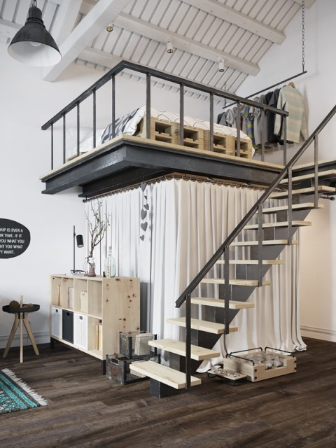 34-monochrome-scandinavian-loft-interior-20