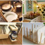 35 ไอเดีย สร้างพื้นที่จัดเก็บของใช้ในครัว ได้ทั้งความสวยงาม เป็นระเรียบ และง่ายต่อการใช้งาน