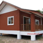 Review : สร้างบ้านอิฐบล็อกประสาน ดีไซน์น่ารักอบอุ่น ในงบประมาณราว 4 แสนบาท