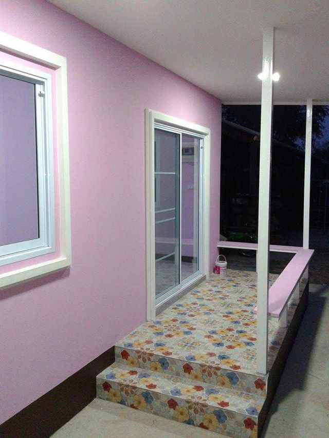 45sqm pink modern house review (18)