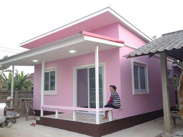45sqm pink modern house review (3)