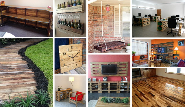 60 wooden pallet diy ideas cover