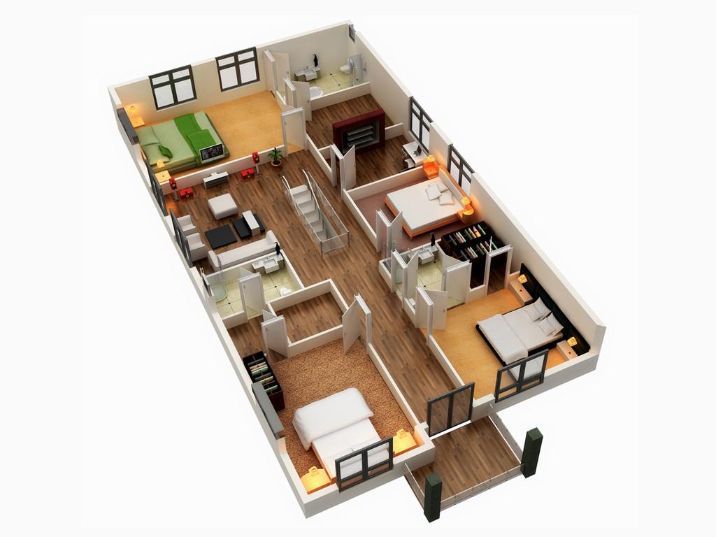 9 good narrow house plans (2)