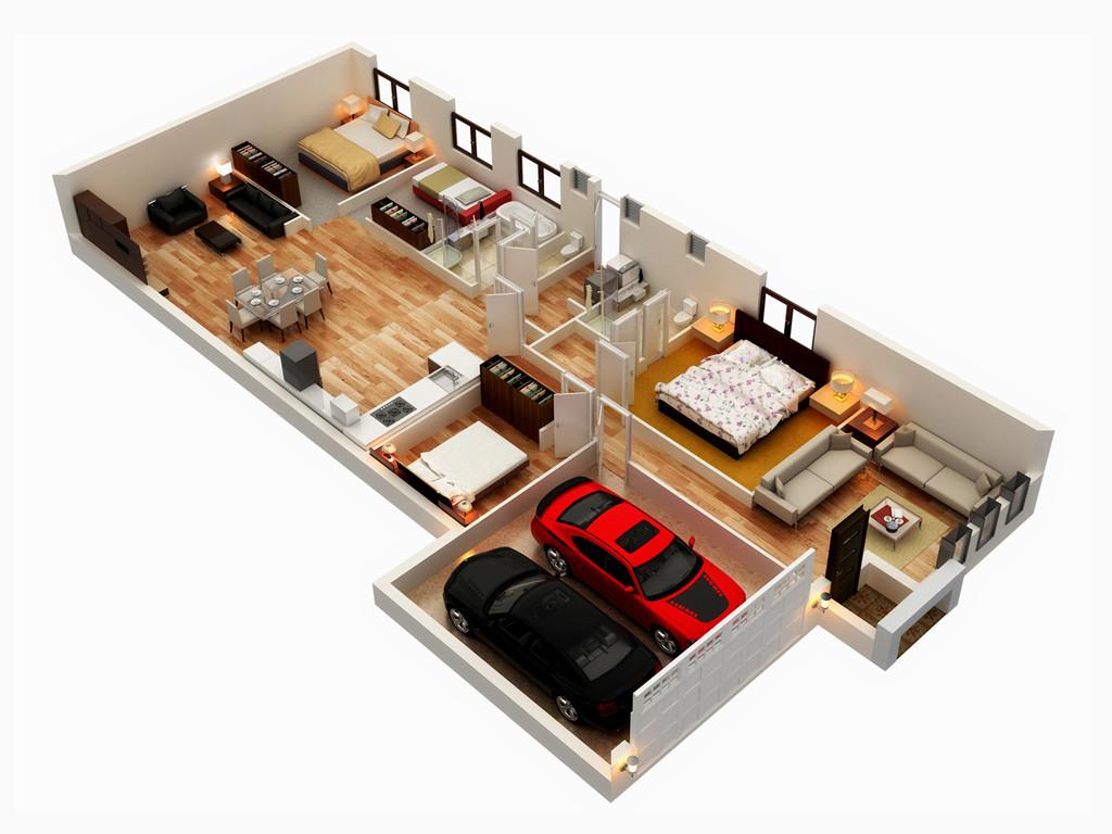 9 good narrow house plans (3)