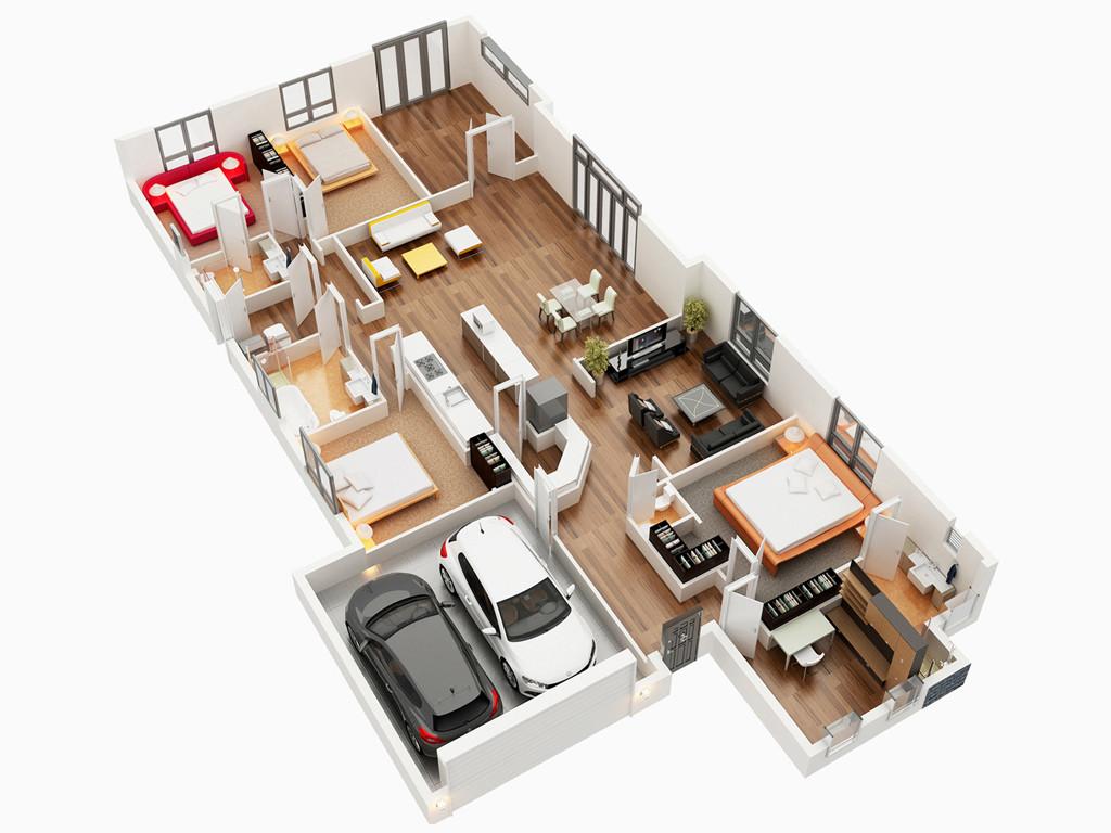 9 good narrow house plans (9)
