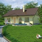 บ้านเดี่ยวสไตล์ร่วมสมัย ตกแต่งภายนอกเรียบง่ายแบบบ้านสวน 2 ห้องนอน 2 ห้องน้ำ พร้อมพื้นที่พักผ่อนกลางแจ้ง