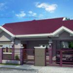 บ้านเดี่ยวร่วมสมัย หลังคาทรงจั่ว มีความภูมิฐานในรูปทรง และโทนสี 1 ห้องนอนใหญ่ 2 ห้องนอนเล็ก