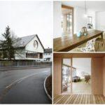 บ้านร่วมสมัยใหม่ ดีไซน์เรียบง่าย ภายในตกแต่งด้วยปูนเปลือย ไม้ และงานแบบมินิมอล