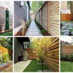"""41 ไอเดีย """"แผงรั้วไม้แนวนอน"""" สร้างมุมมองสุดเนี้ยบ ให้กับสวนสวยของเรา"""