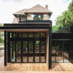 บ้านโมเดิร์นรีโนเวทจากบ้านวิคตอเรีย วัสดุจากเหล็กและไม้ ตกแต่งสวยงามแบบลอฟท์