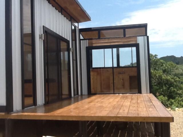 Modern house metalsheet design (12)