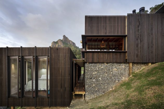 Modern style villa wooden on the hills (1)