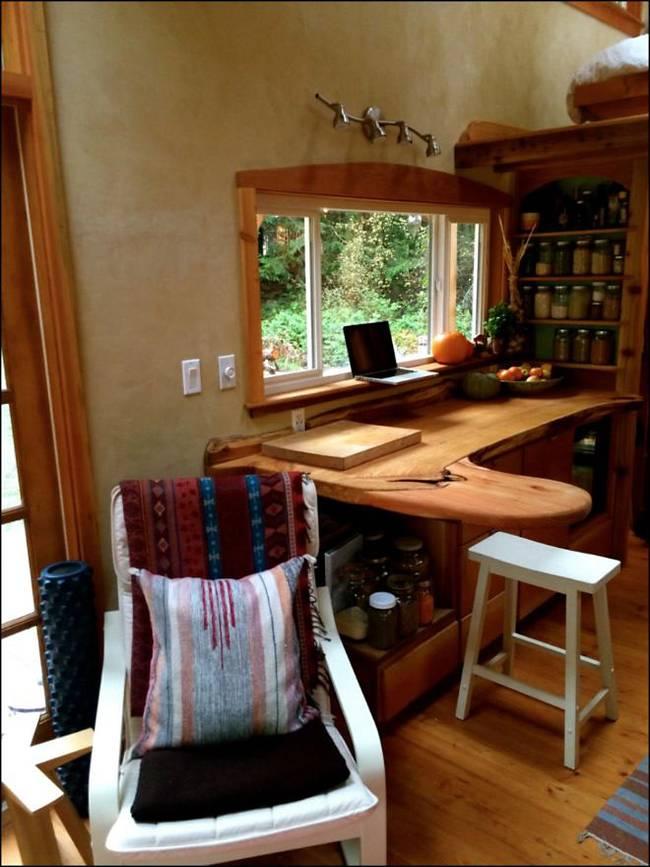 Rustic wooden house 1 bedroom  1 bathroom (3)