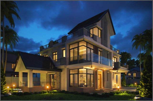 two-storey-house-modern-style-with-3-bedrooms-3-bathrooms-elegant-2