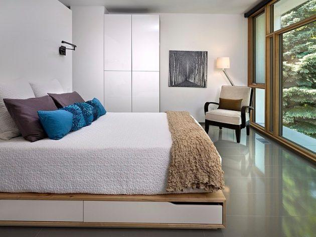 Two-story contemporary narrow home (10)