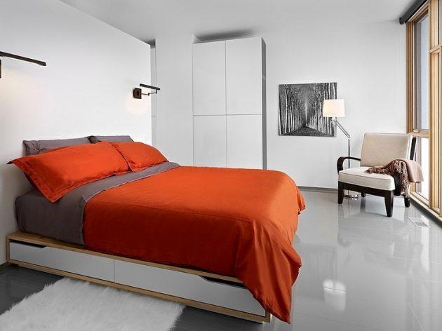 Two-story contemporary narrow home (11)