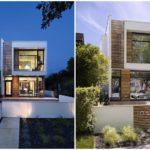 บ้านโมเดิร์นสองชั้น ออกแบบหลังเล็กกะทัดรัด สะท้อนงานตกแต่งแบบบ้านสมัยใหม่