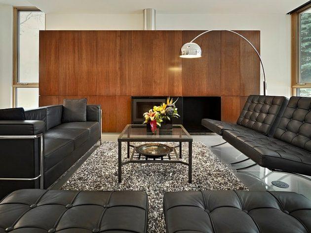 Two-story contemporary narrow home (2)