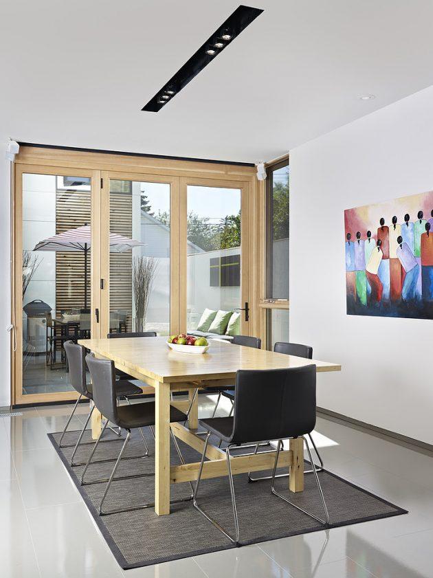 Two-story contemporary narrow home (5)