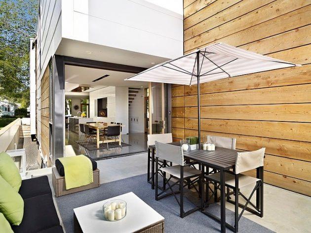 Two-story contemporary narrow home (6)