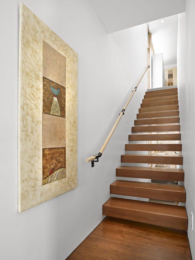 Two-story contemporary narrow home (7)